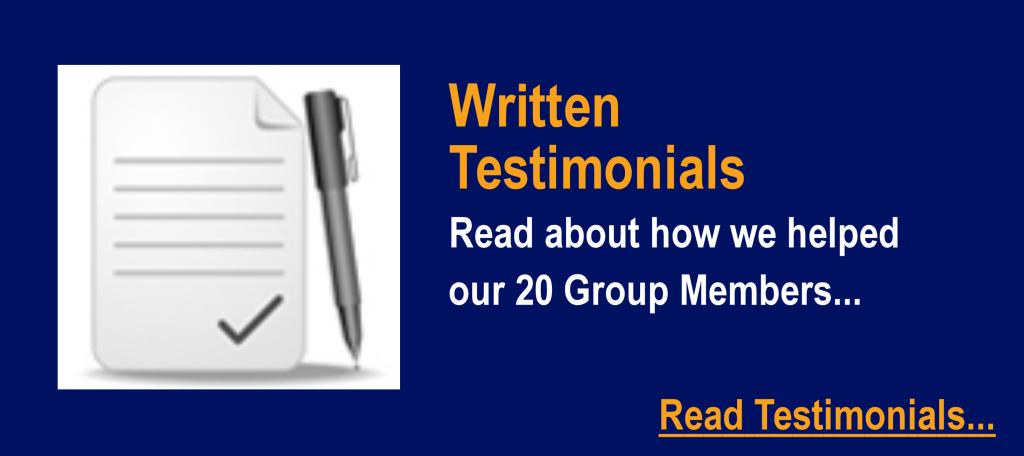 DP-Written Testimonials