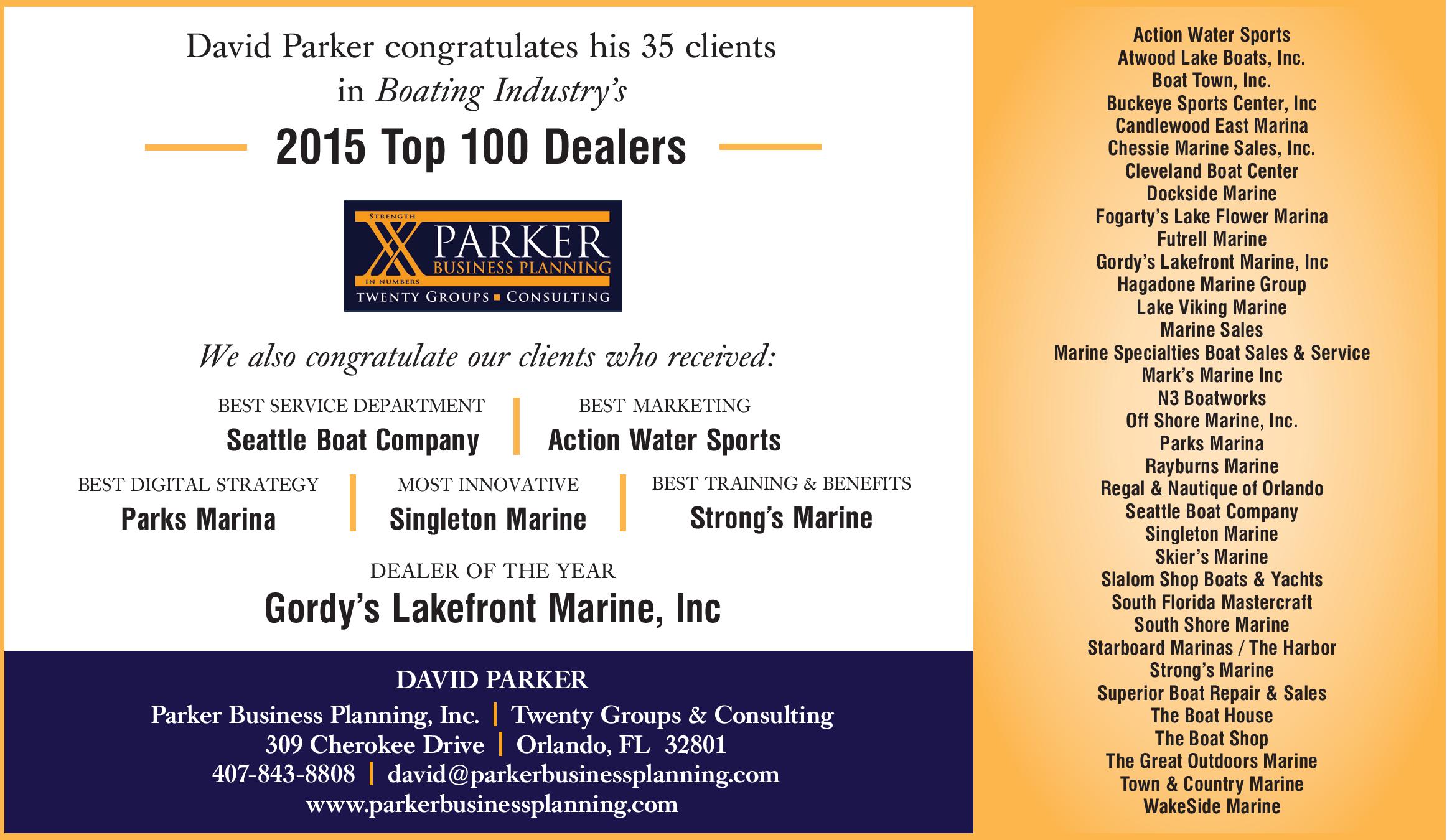 2015Top 100 Dealers